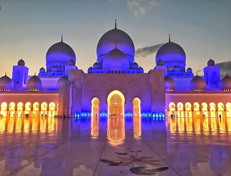 Grand Mosque Abu Dhabi. Foto: Renata Zagato Flickr