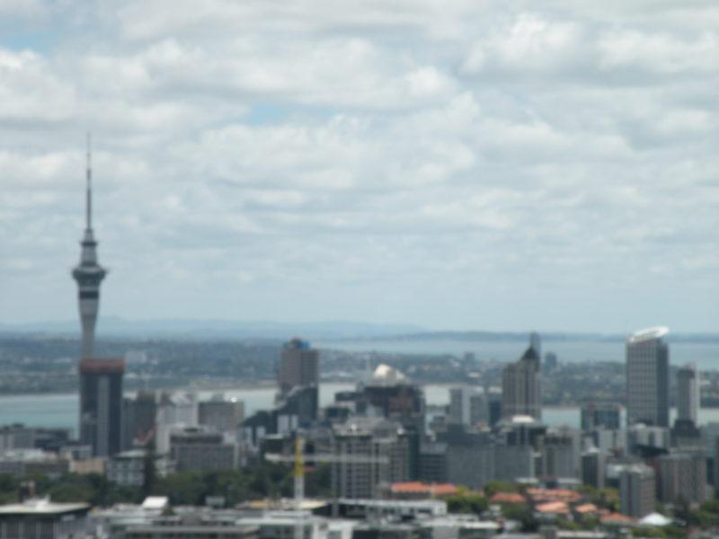 Auckland CBD Nova Zelandia Custo de Vida