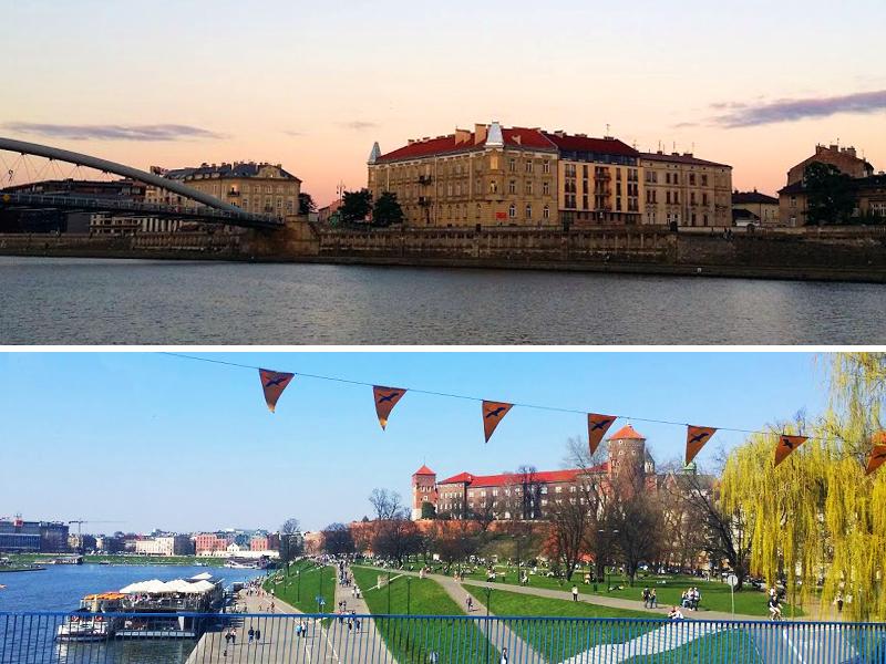 Podgórze e Colina do Wawel