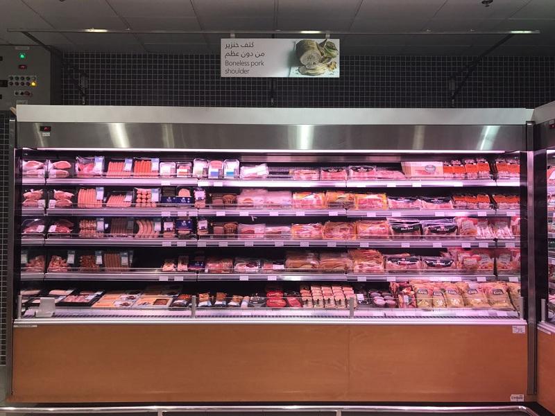carne de porco abu dhabi supermercado