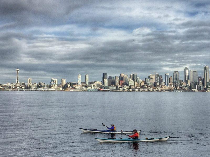 Tempo em Seattle