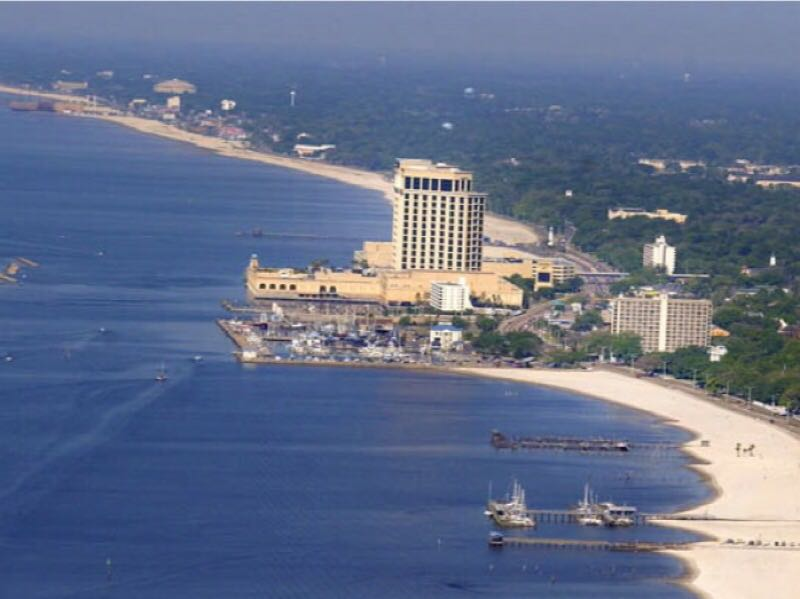 10 pontos turísticos, Mississippi, Biloxi
