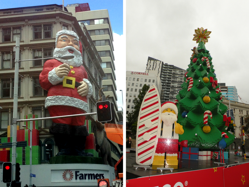 Decoracao de Natal na Nova Zelandia