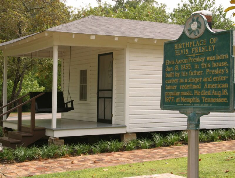 10 pontos turísticos, mississippi, elvis presley birthplace and museum