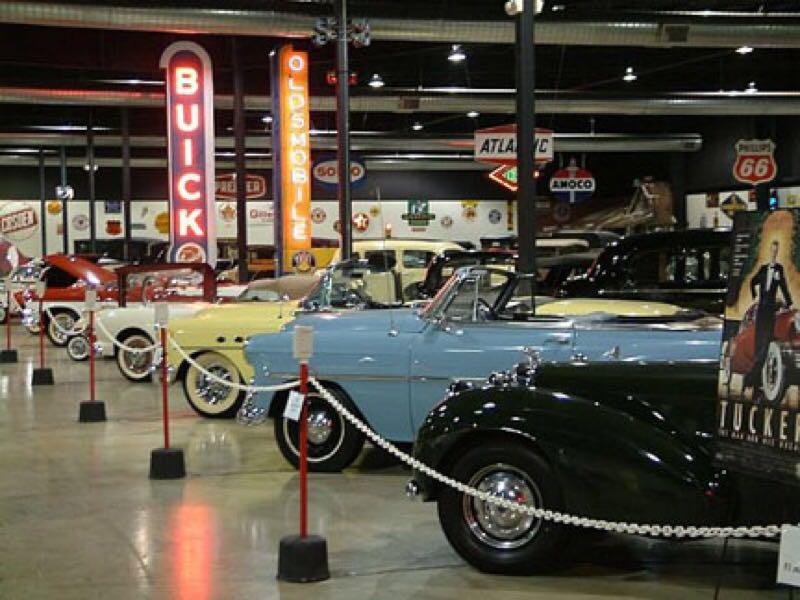 10 pontos turísticos, mississippi, tupelo automobile museum