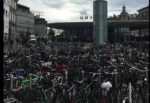 bicicletas na cidade de Copenhague
