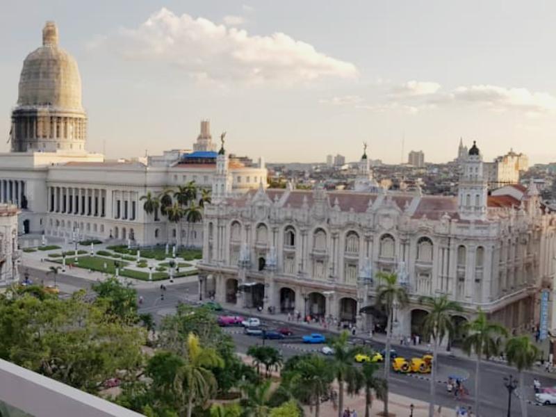Capitolio em Havana, Cuba