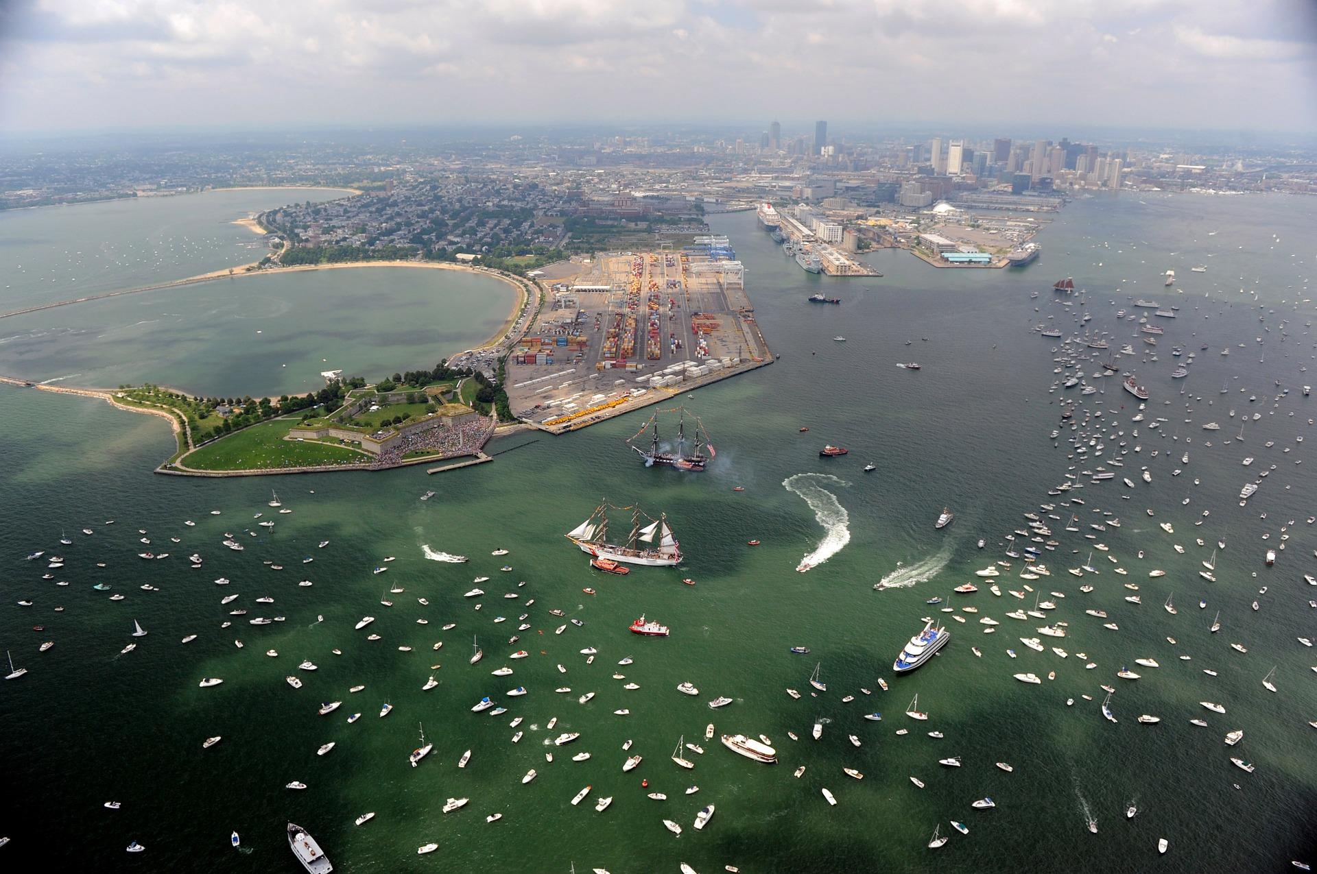 passeio de barco, boston, boston cruise, boston harbor