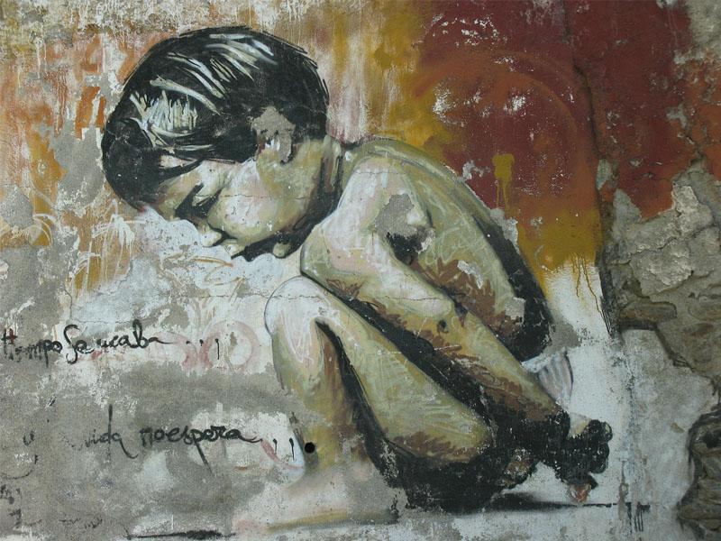 Grafite como protesto: cultura espanhola