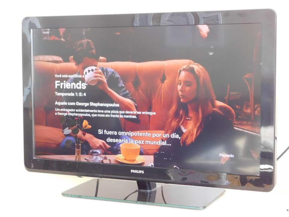 Foto: Acervo Pessoal | Vendo Friends no Netflix