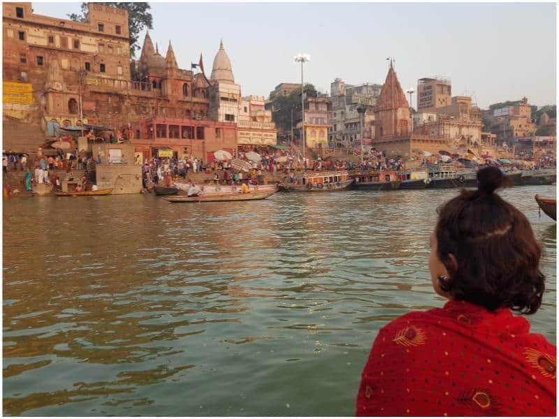 Varanasi, a cidade sagrada. Foto: Acervo pessoal.