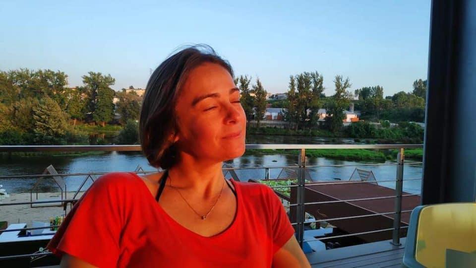 Giselle Costa praia fluvial Prado