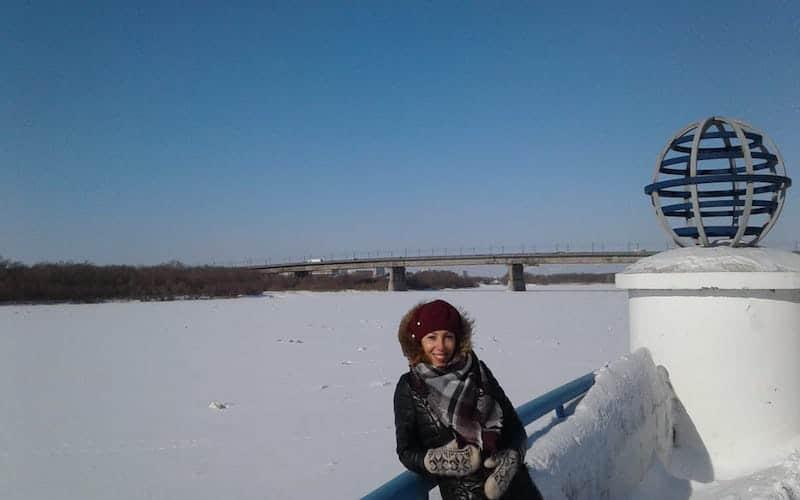 Inverno na Sibéria