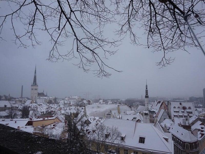 neve na Estônia