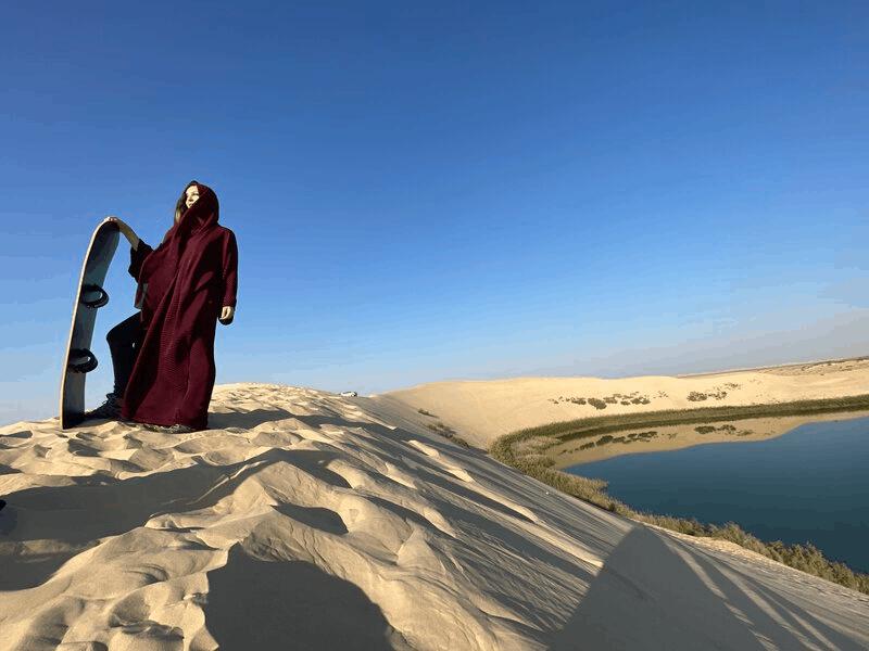 Lago no deserto