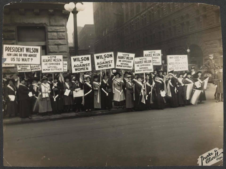 sufragistas, Estados Unidos, voto feminino