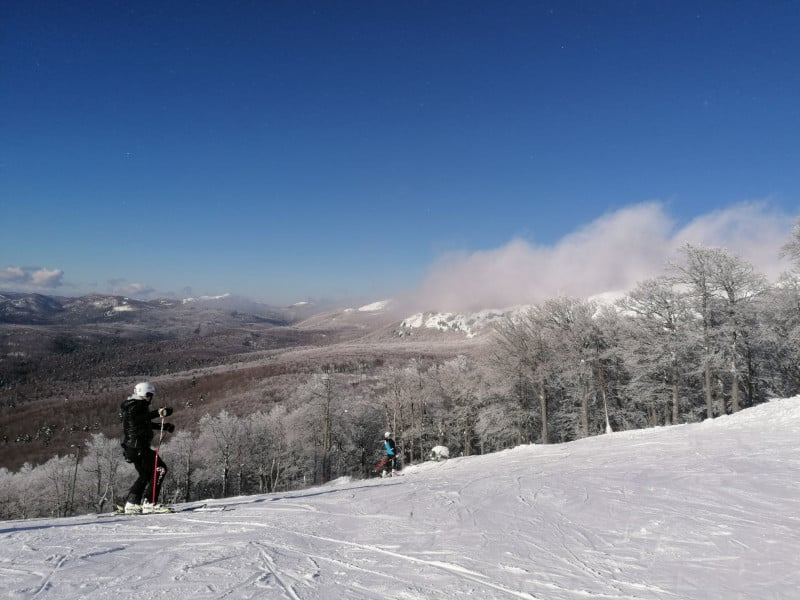 Esqui, Croácia