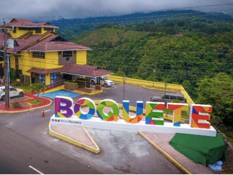 Cidade de Boquete , em Panamá