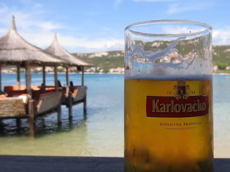 Cerveja, Croácia