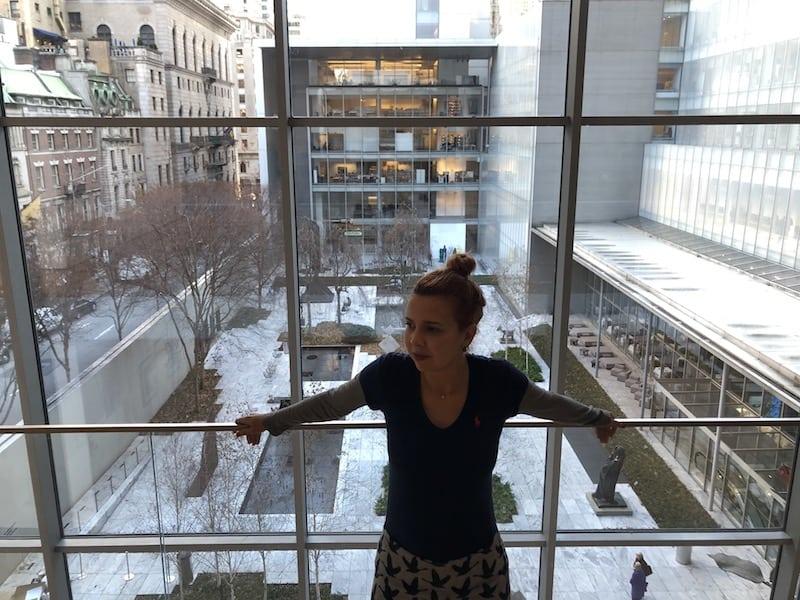 Foto do meu acervo pessoal tirada de dentro do MOMA, NY