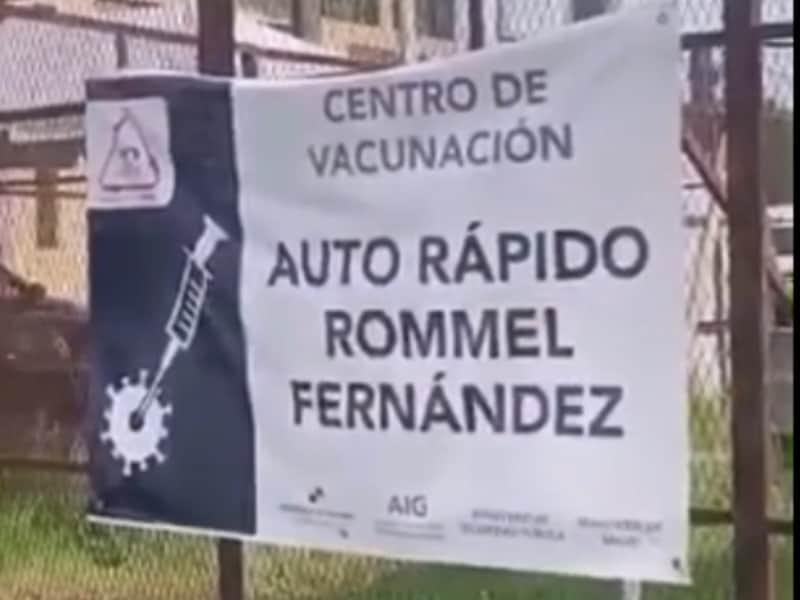Centro de vacinação Panamá - acervo pessoal