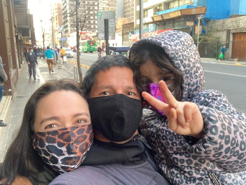 usar a máscara no Chile
