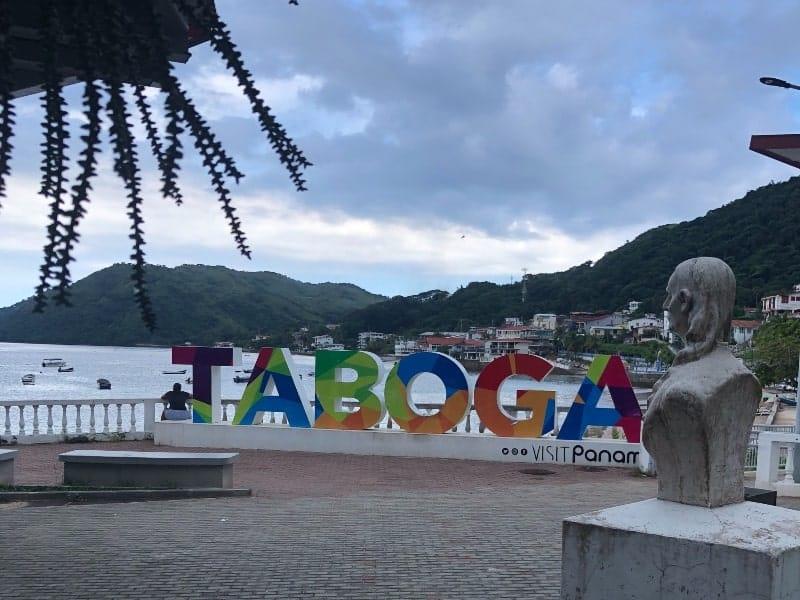 Ilha de Taboga, Panamá. Acervo pessoal
