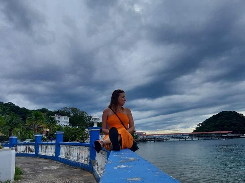 Ilha Taboga, bucólica, linda e muito tranquila. Panamá, acervo pessoal.